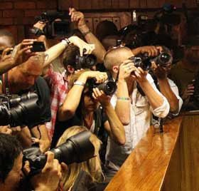 Les médias au tribunal