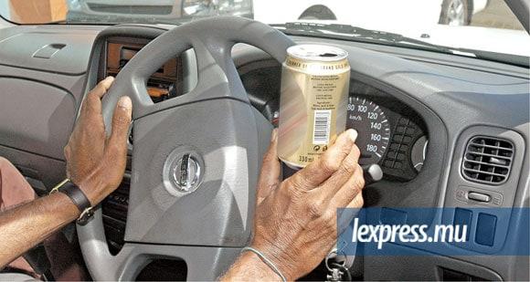 pas de bière au volant