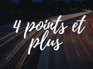 retrait de 4 points